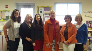 Senator Cathy Osten, Representative Gayle Mulligan and FRC Staff Harvest Breakfast Nov 2015!