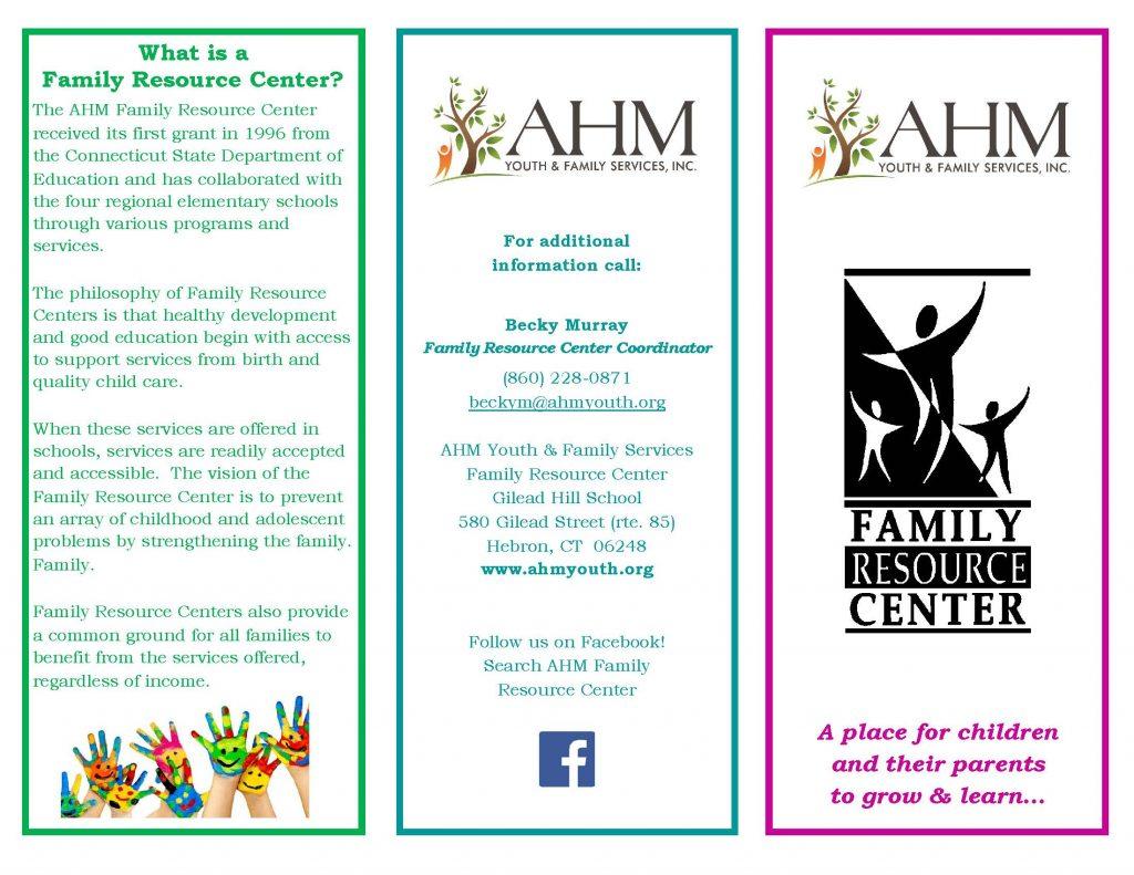 Family Resource Center Brochure